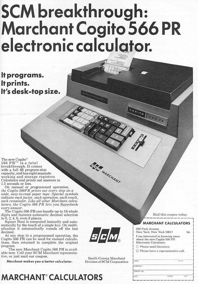 wanted  marchant 566pr desktop calculator